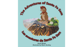 The Adventures of Santa Fe Sam by Sandi Wright, Riyon Harding (illustrator)