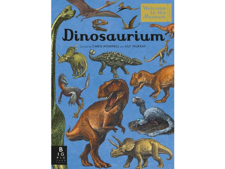 Dinosaurium by Lily Murray, Chris Wormell (Illustrator)