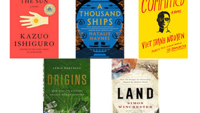 A Selection of New Hardcover Lit. for Grownups!