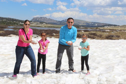 Snowball Fight in July