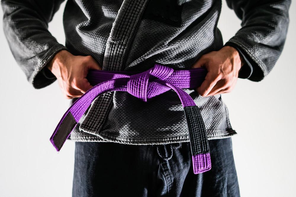 BJJ Report Purple Belt