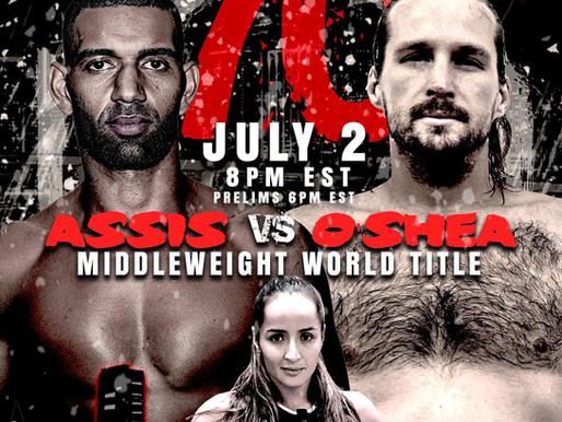Titan FC 70 is Friday, July 2. UFC FIGHTPASS