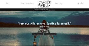 Shop Tamed Wild