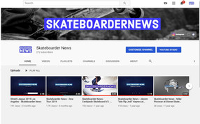 Skateboarder News You Tube Channel