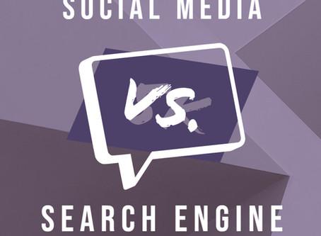 Organic SEO versus Social Media Marketing