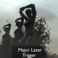 Major Lazer trigger music video