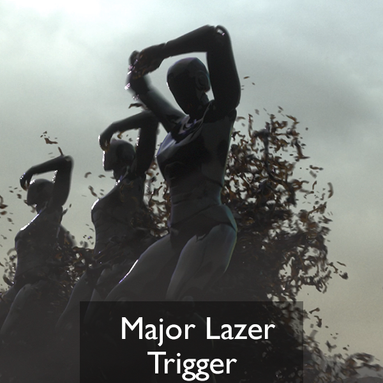 Major Lazer trigger music video