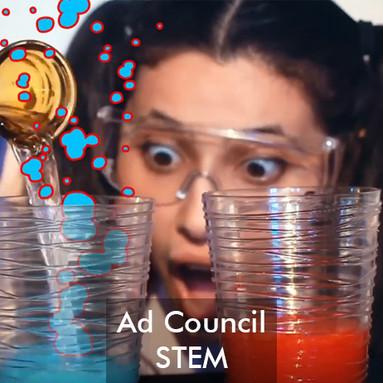 Ad Council - Dare to STEM