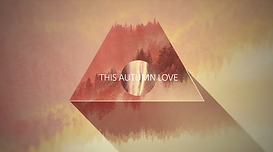 death cab for cute autumn love MV LV music lyric video graphics animation