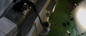 trust bank fall rooftop bruce willis vfx commercal green screen