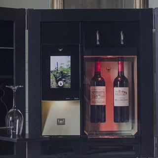 Coffret à vin réalisé pour Digby