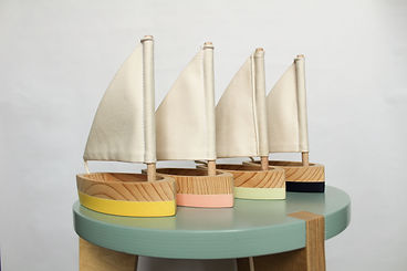 Bateaux Polo bois - décoration