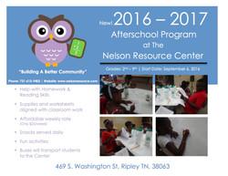2016 - 2017 Afterschool Program Fyer _ 1st Draft