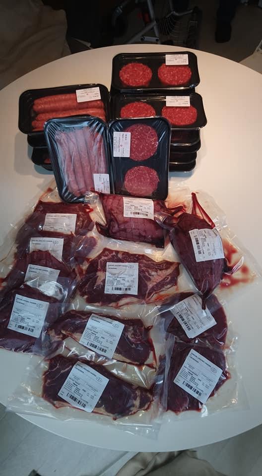 colis viande