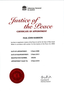 JP Certificate