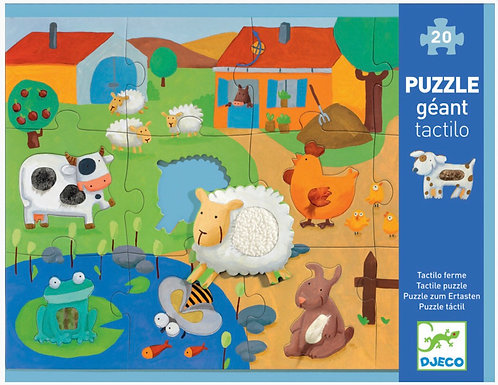 Tactile Farm 20pc Giant Puzzle