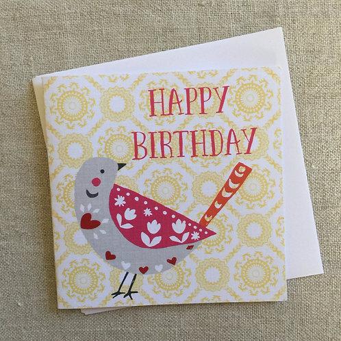 Petit Birthday Birdy Card