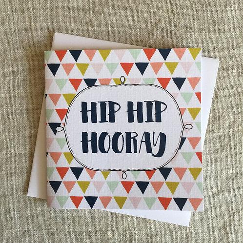 Petit Hip Hip Hooray Card