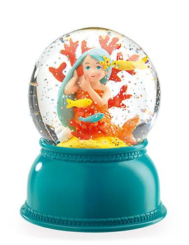 Mermaid Globe Night Light