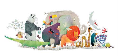 Animal Parade 36pc Giant Puzzle