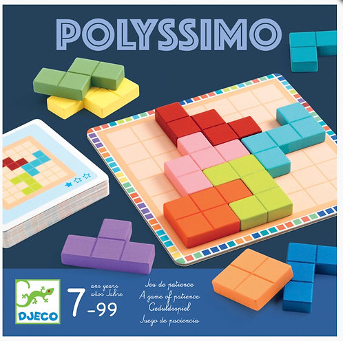 Polyssimo Tactic Brain Teaser Game