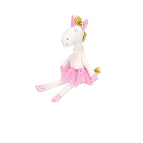 Unicorn knit toy