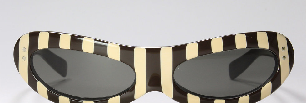 1950s American Optical Torrid Striped Sunglasses