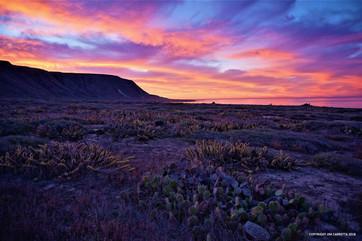 San Clemente Island sunrise
