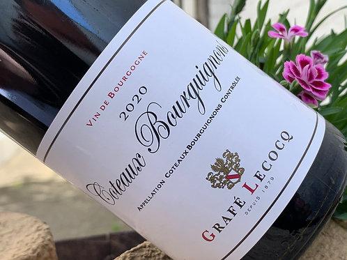 Coteaux Bourguignons 2020 - Vendu en carton de 6 bouteilles