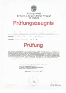 Vorstellung -Zertifizierung Phillip-Hein