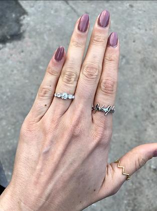 Five stones ring - טבעת חֲמֵשֶׁת האבנים