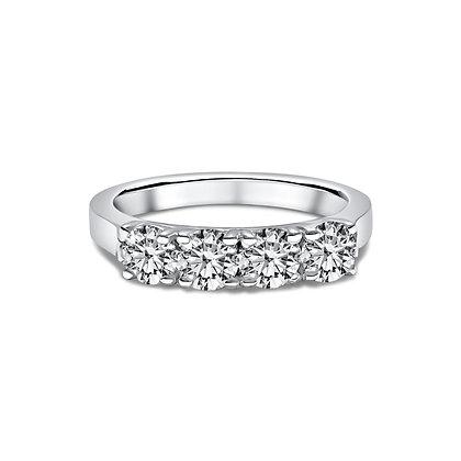 4 Stones Ring