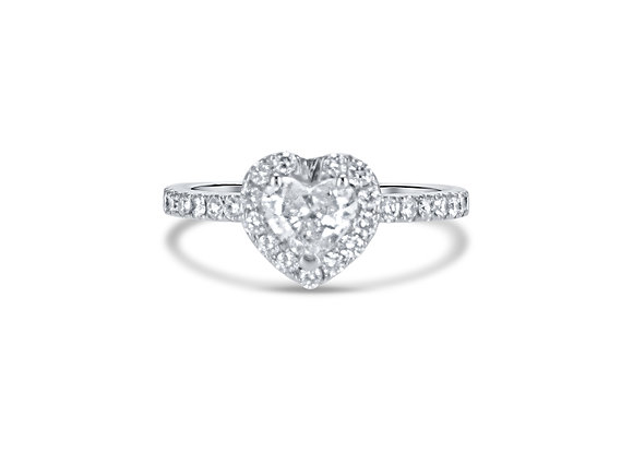 The Classic Heart - טבעת לב קלאסית