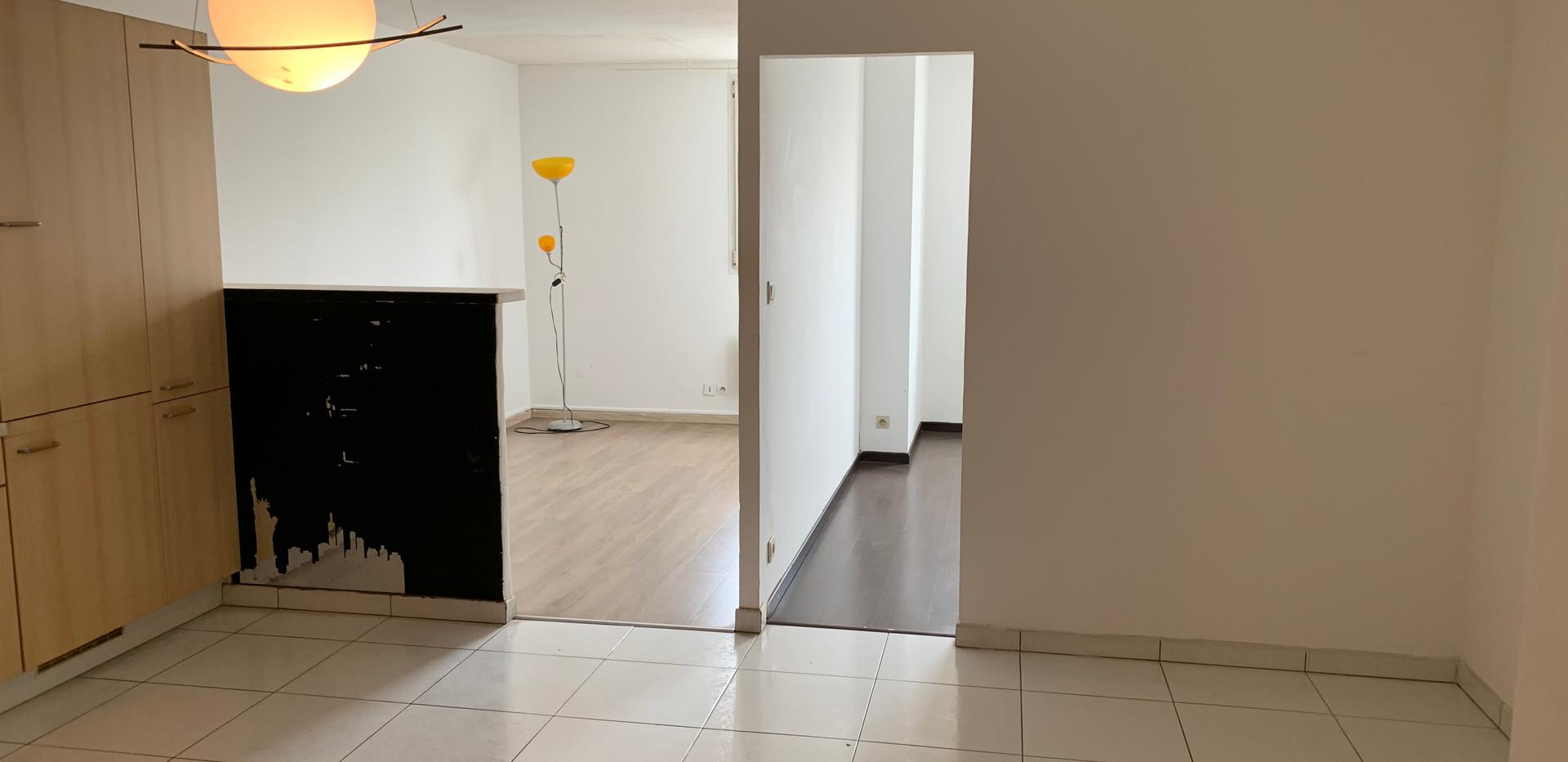 Photo de l'appartement, avant intervention