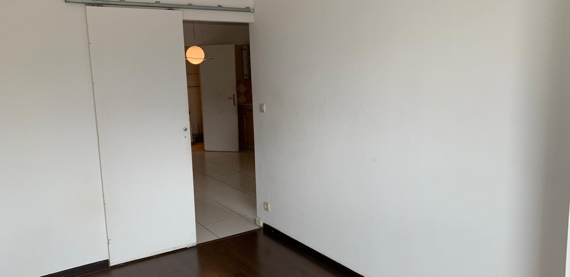 Photo de la chambre, avant intervention