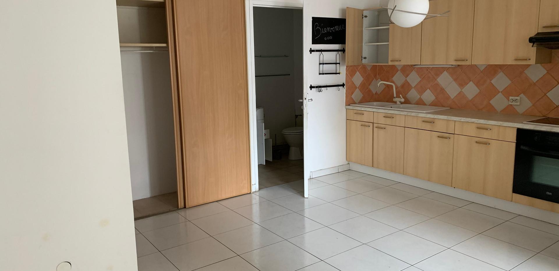Photo de la cuisine, avant intervention