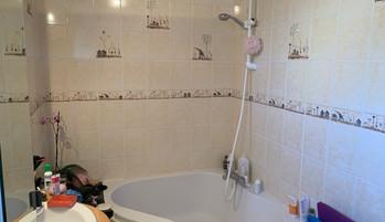 Salle de bain avant tra