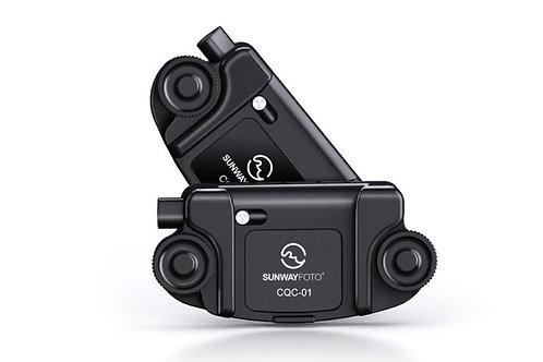 Sunwayfoto CQC-01 Camera Quick Release Clip (Regular Bag Strap)