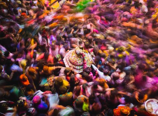 6-Days of India's Holi Festival: The Greatest Colour Show On Earth Pt.1