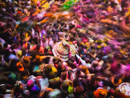 6-Days of India's Holi Festival: The Greatest Colour Show On Earth Pt.1