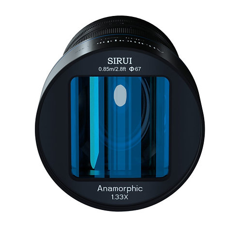 Sirui 50mm F1.8 1.33x Anamorphic Lens Various Mounts