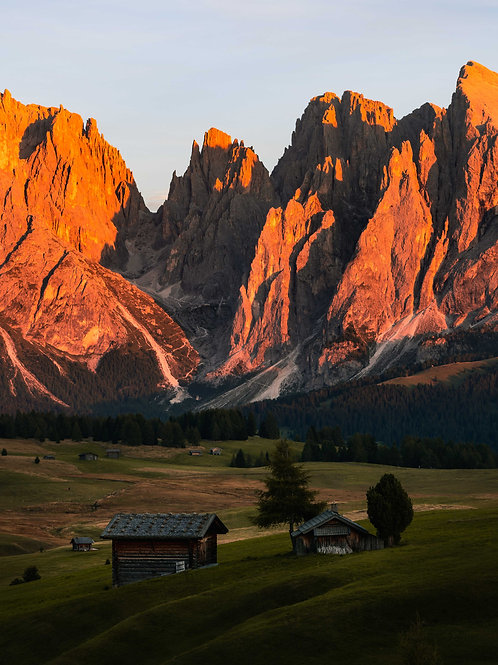 Alpe di Suisi Sunset