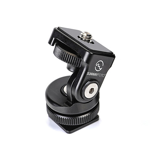Sunwayfoto HB-02 Hot Shoe Tilt Head
