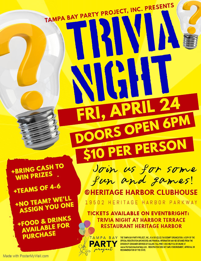 Copy of Trivia Night Flyer - Made with P