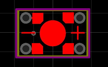 LED SOCKET MINI-PCB