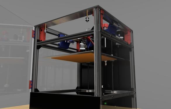 HIGH SPEED H-BOT 3D PRINTER