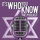 Its Who You Know Podcast logo -- purple
