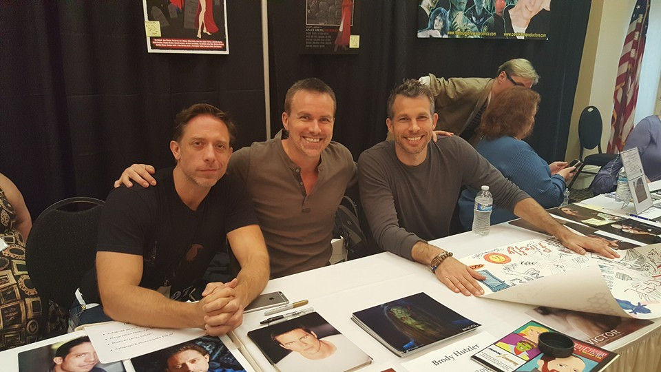 James Leary, Brody Hutlzer, Mark Lutz at Sunnydale Mall