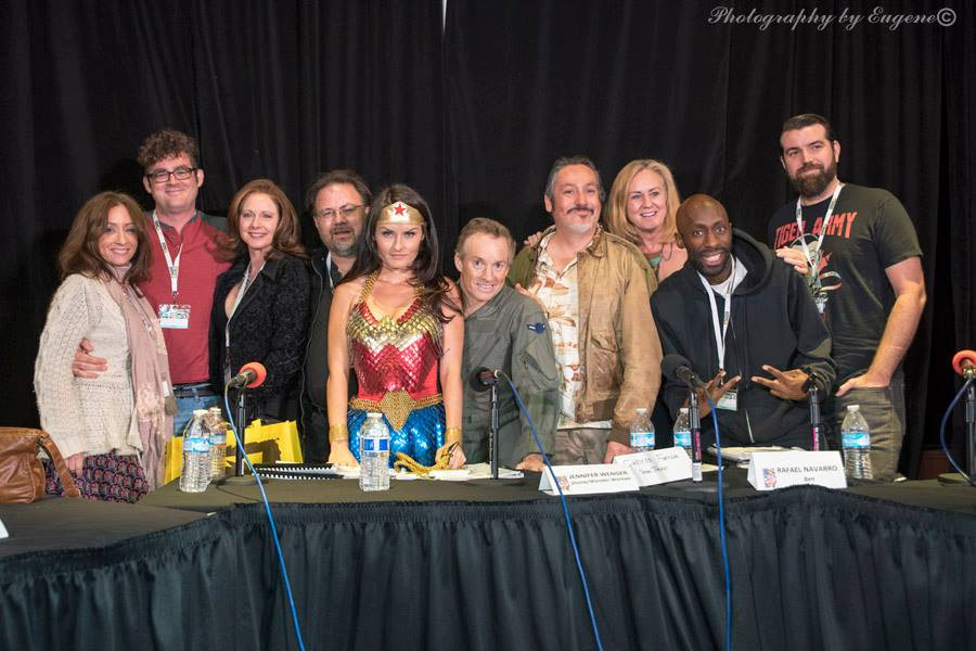 Comic Bug's Wonder Woman cast rocked!!