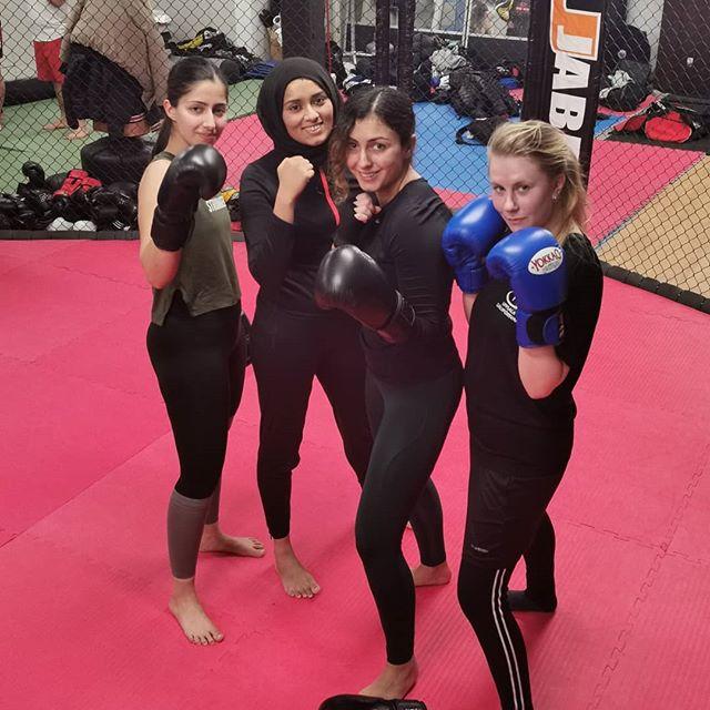 tjejboxning